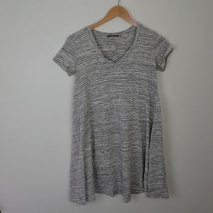 Soprano | Nordstrom Gray T-Shirt Dress